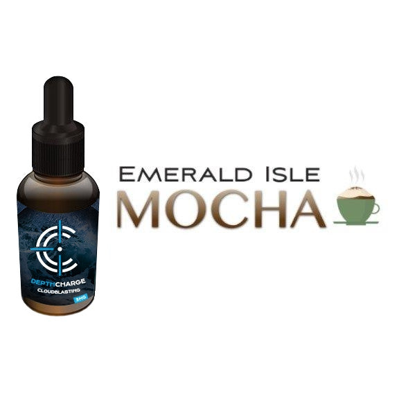 Emerald Isle Mocha Depth Charge Max VG E-Liquid (30mL)