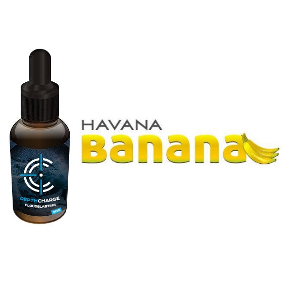 Havana Banana Depth Charge Max VG E-Liquid (30mL)
