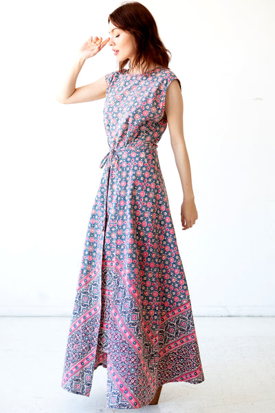 Ella Maxi Wrap Dress