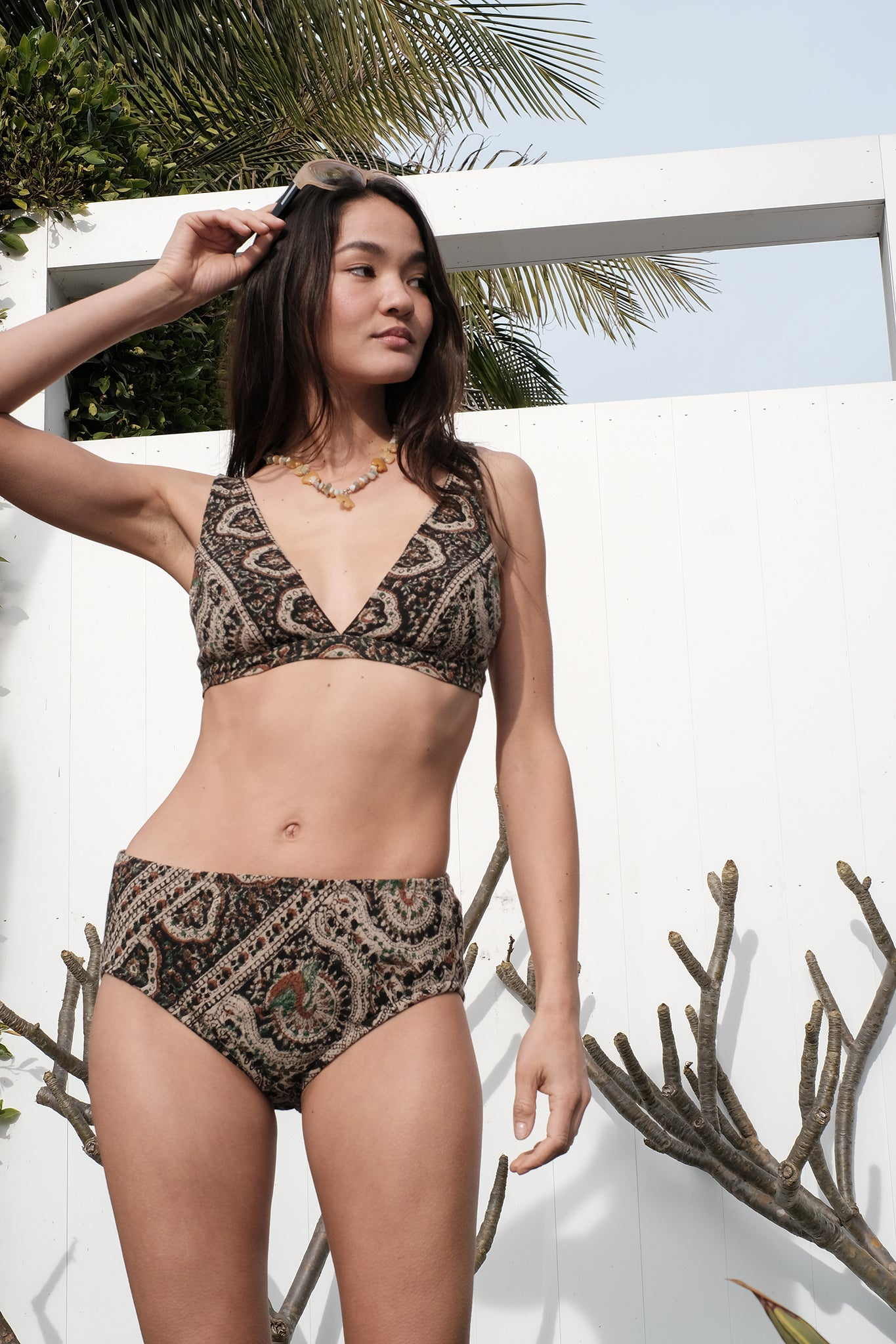 Marly Tapestry Bra Top