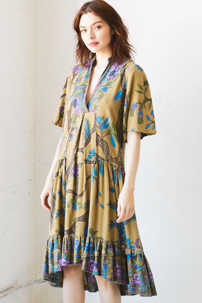 Amanda Tree of Life Midi Dress