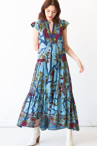 Miranda Maxi Tree of Life Dress