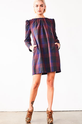 Norma Tartan Mini Dress