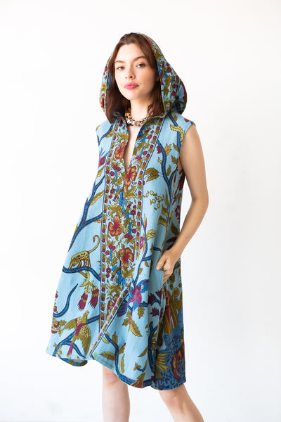Tessa Hooded Caftan