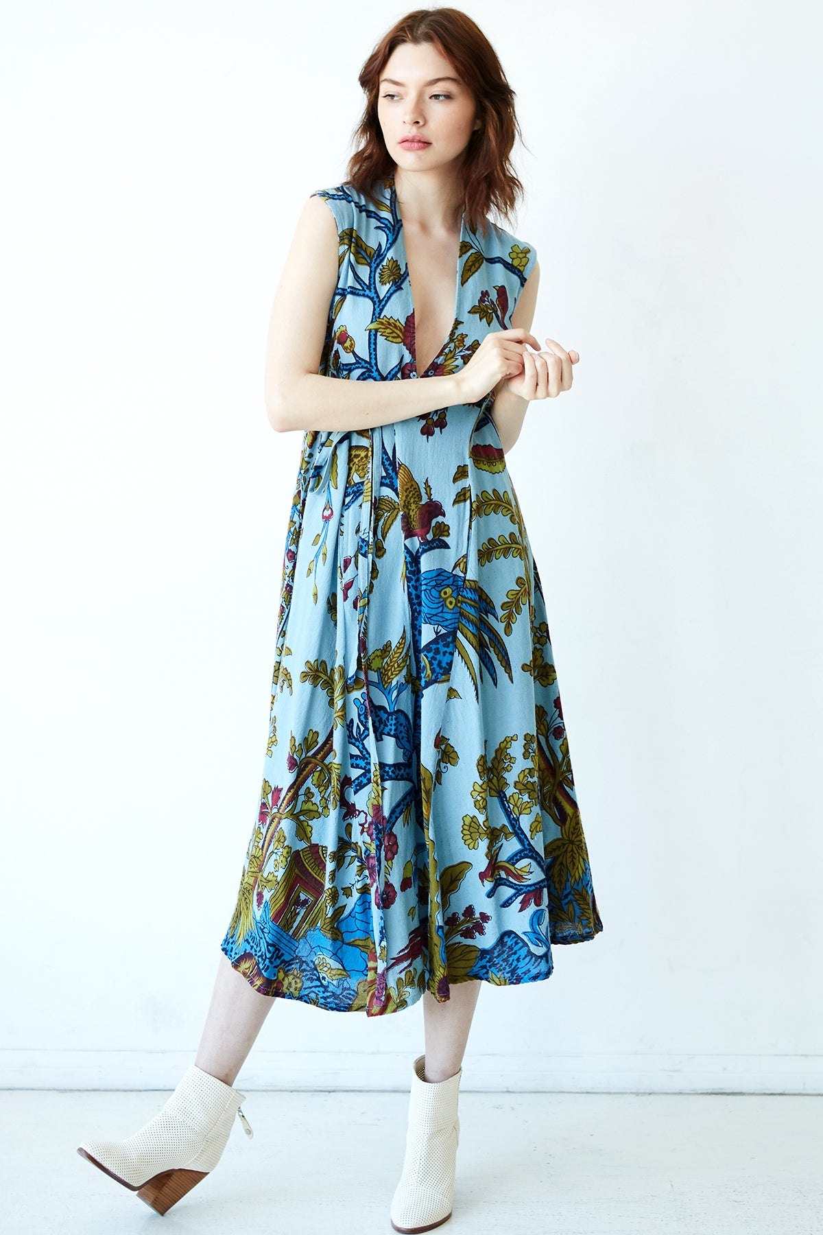 Lilly Midi Tree Of Life Dress