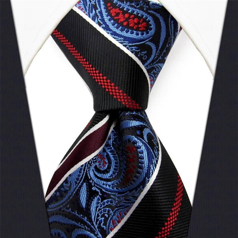 Black / Red / Blue Necktie Main Image