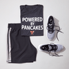 Unisex Powered by Pancakes T-Shirt