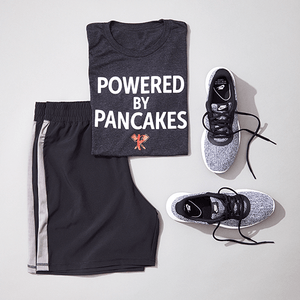 Men's Powered by Pancakes T-Shirt