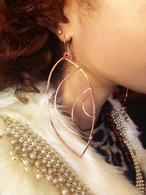 Long Leaf Earrings