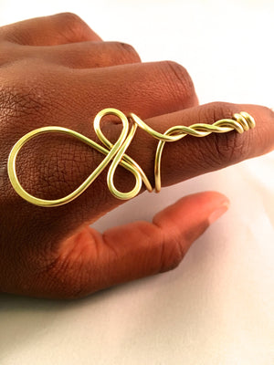 Egyptian Ankh Ring
