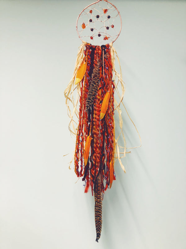 ZE Dreamcatcher In Orange 31""