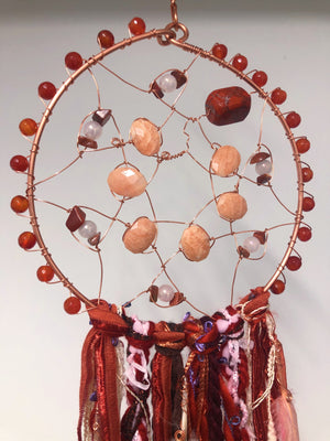 ZE Dreamcatcher In Red 33""