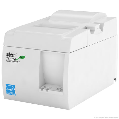 "MINI SQUARE REGISTER - Star TSP100 USB Receipt Printer, 13"" Cash Drawer"