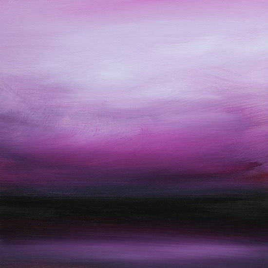"""Purple Rain"" is in Curated Collection of Saatchi Art"