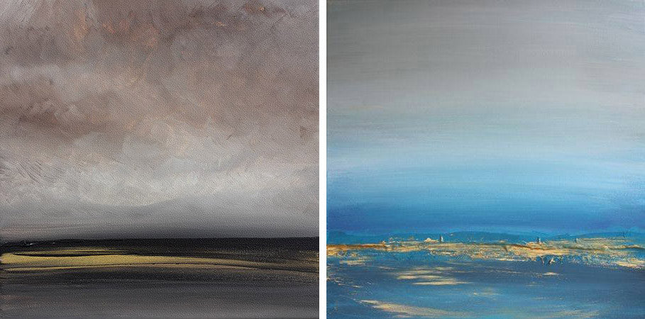 "Three paintings are included in Saatchi Art ""Sublime Landscapes"" Collection"