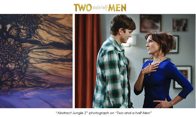 "Art on ""Two and a half Men"""
