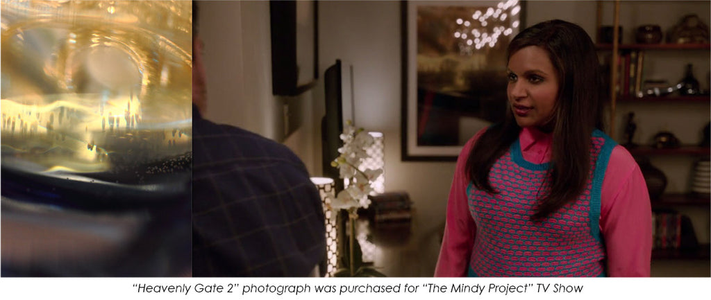 art on the mindy project tv show