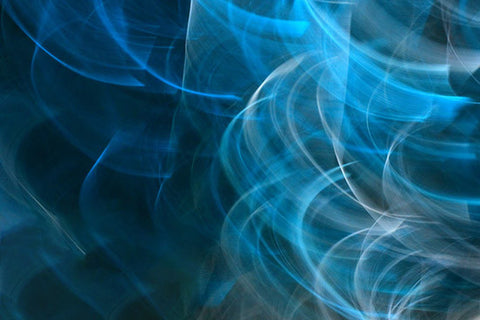 astract photography, blue smoke, light photography, art for sale