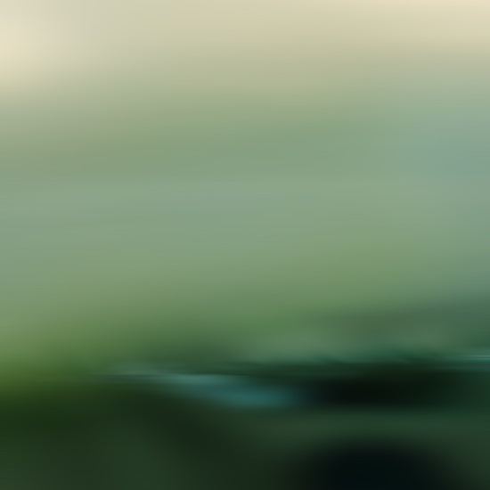 serene abstract landscape, green landscape photography, green photograph, square abstract art