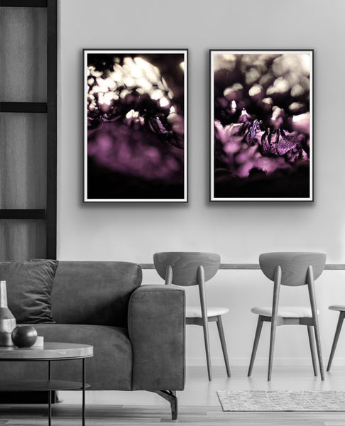 Abstract photography for sale, purple photography