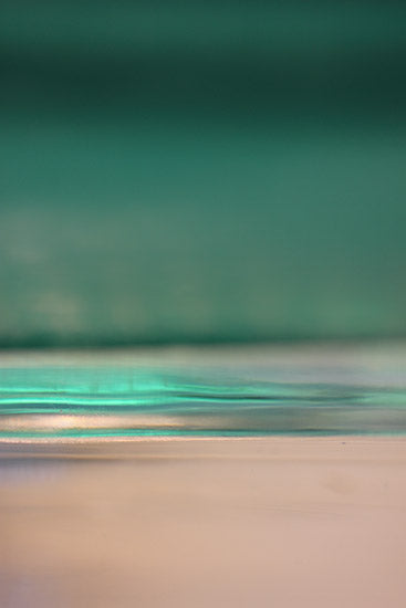 Green landscape, abstract photography