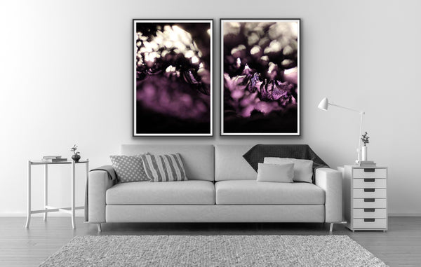 Abstract photography for sale, purple abstract photography
