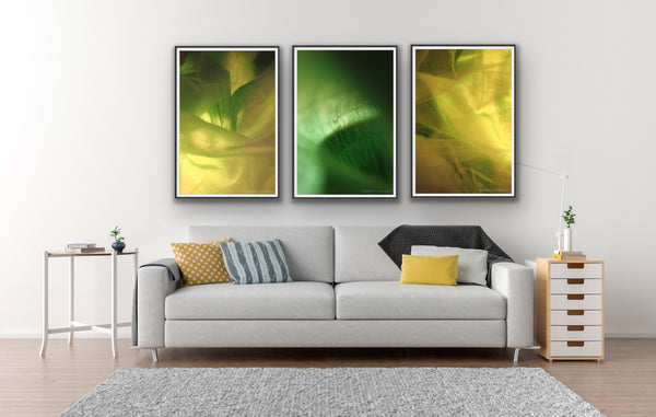 Abstract photography for sale, green abstract photography prints