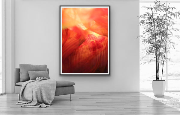 Abstract photography for sale, orange abstract photography prints