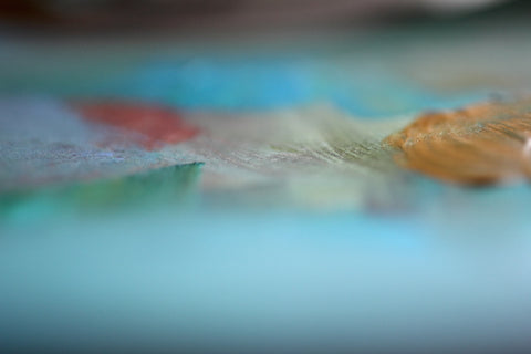 Abstract landscape, abstract photography, colorful print, dreamy photography, ethereal art