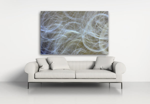 abstract photography print, smoky photograph, light photography, interior design, wall art, luxury art