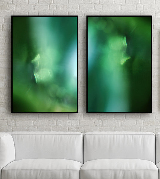 green art for interior design, home decor, art for interiors, green photography, pantone 2017