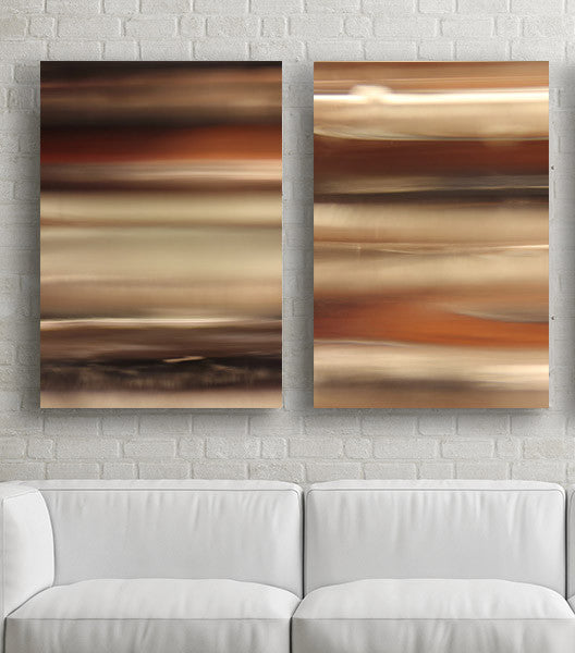 Brown M2 abstract photography print