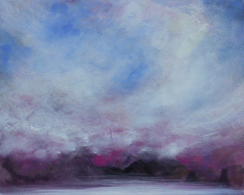 abstract landscape, ethereal art, ethereal landscape, modern landscape, surreal art
