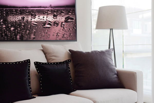 purple photography for contemporary interior design