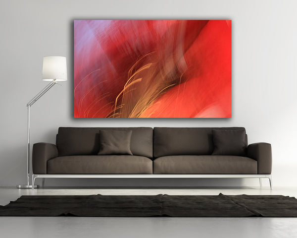 red abstract art, red photograph, abstract, art for interior, art for hospitality, interior design