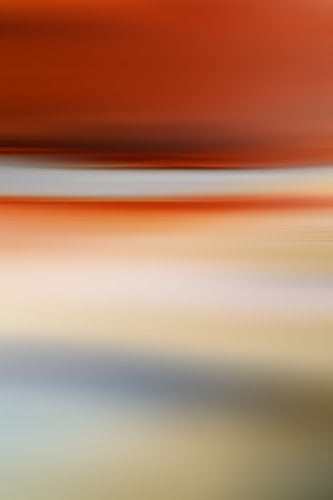 abstract orange landscape, abstract photography, art for interior design, wall art