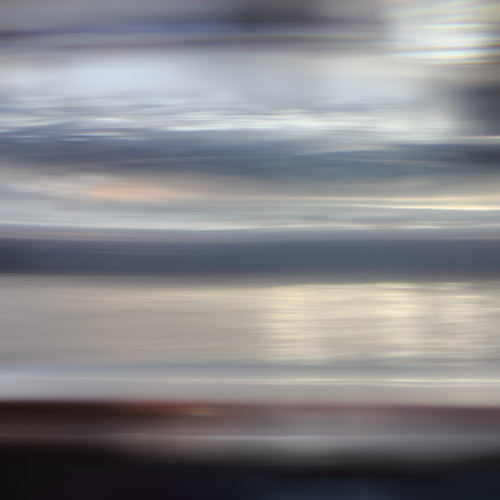 brown grey seascape, abstract ethereal photography, ethereal art, square photography, art for bedroom, art above headbord