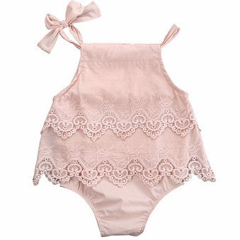 Pretty in Pink Romper Set