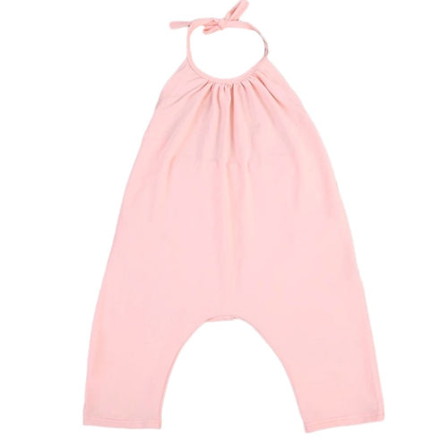 Toddler Romper. Pink Girls Romper. Girls Harem Romper