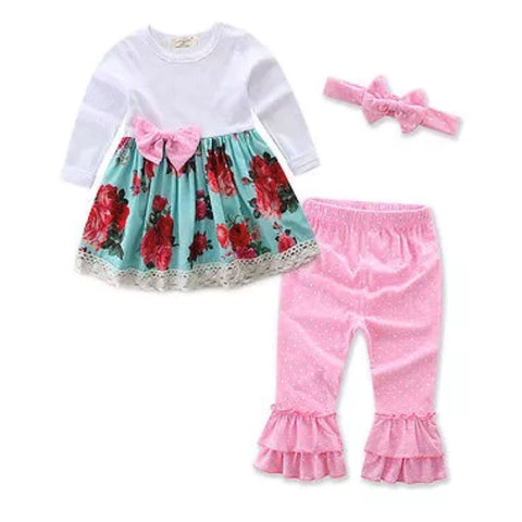 Lace Ruffle set