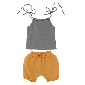 cute baby girl short set