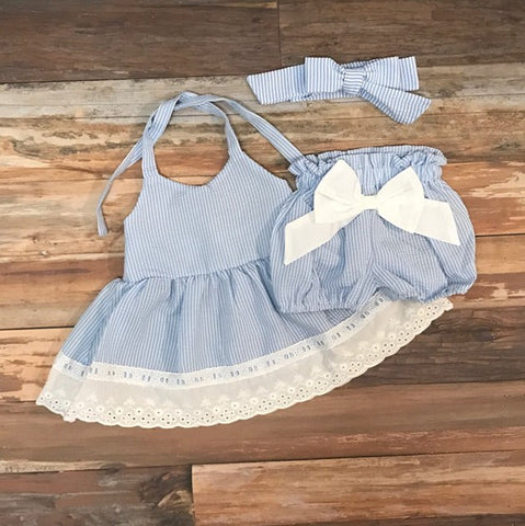 Lavender Heart dress set