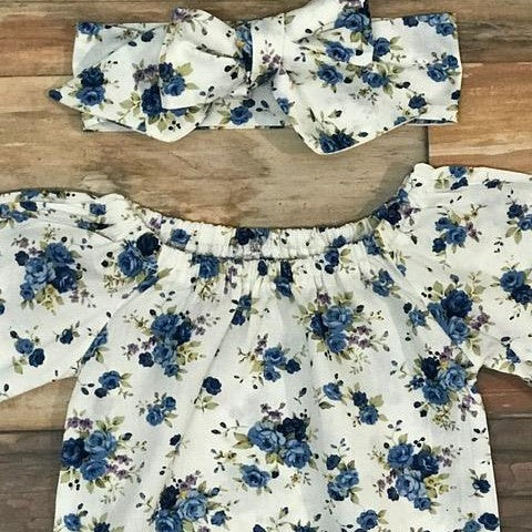 The Blue Floral set