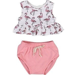 The Flamingo set