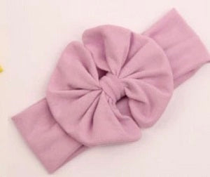 purple baby headband