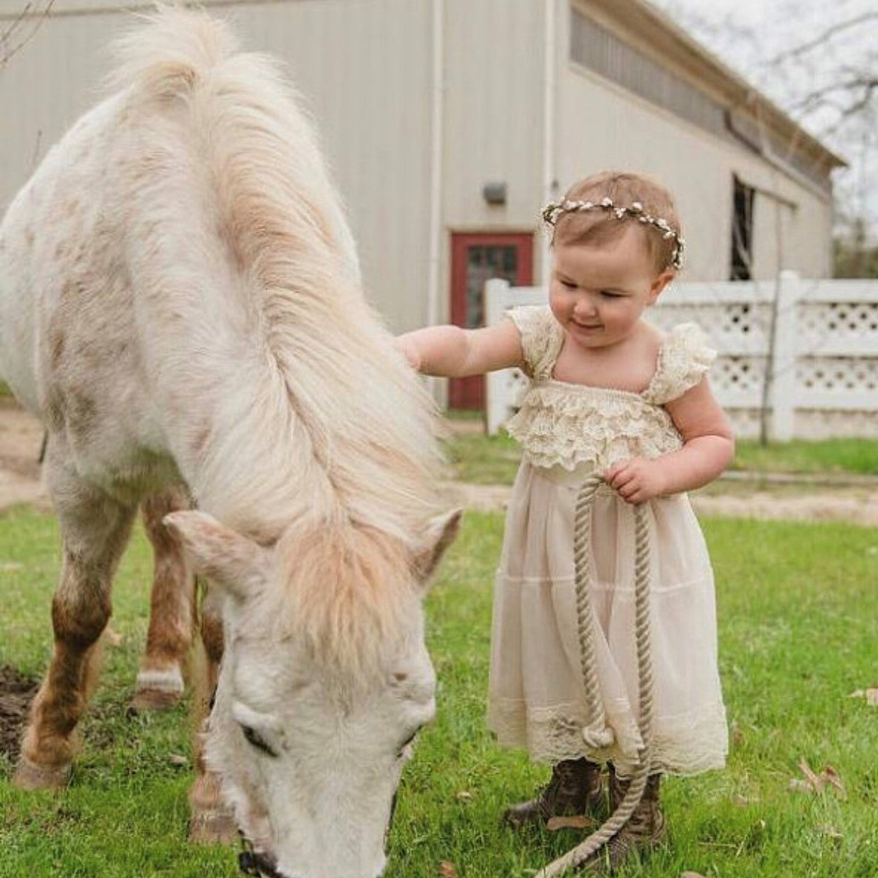 flower girl dress.  girls lace dress