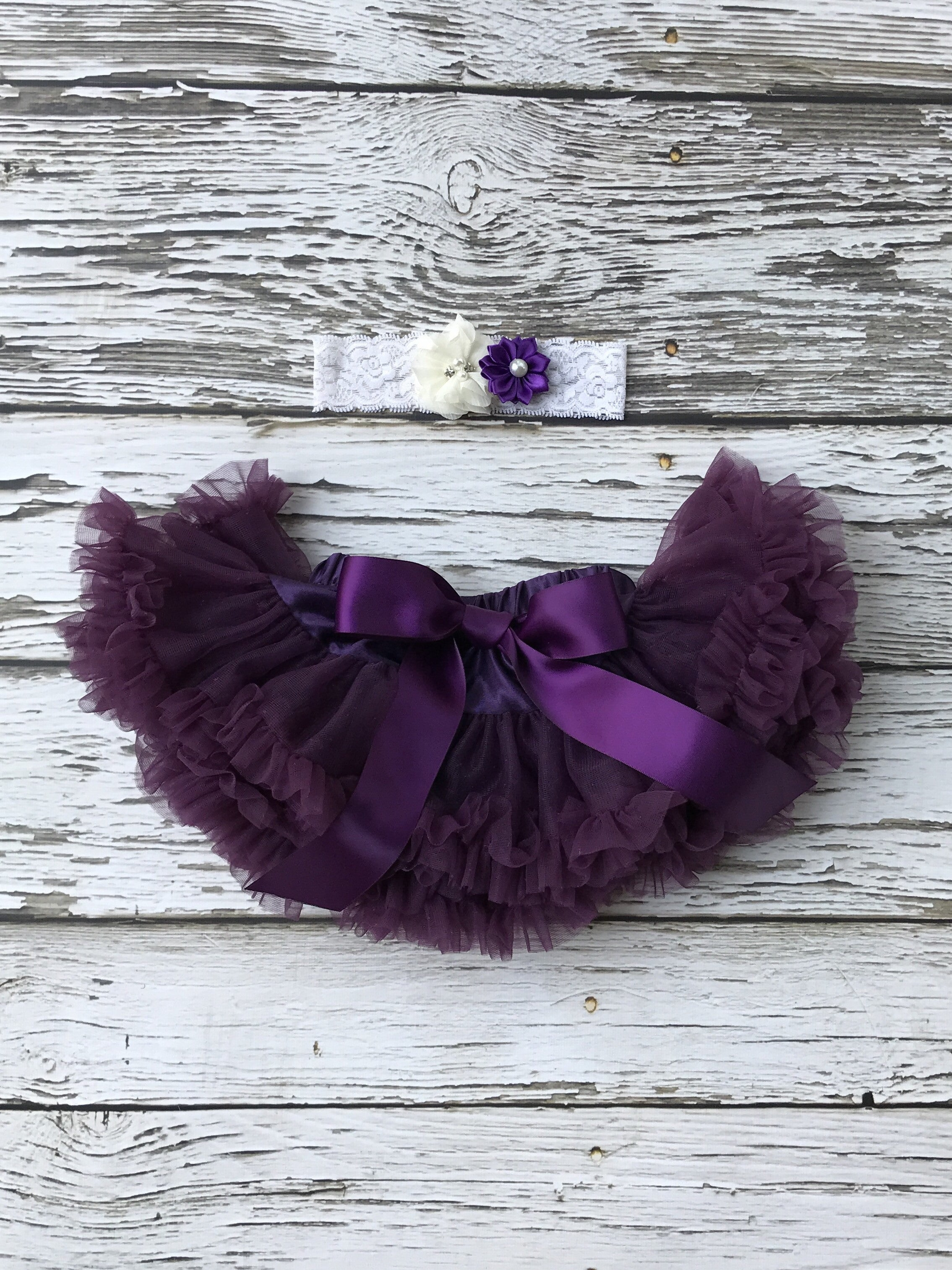 Plum Perfect Baby Petti Skirt