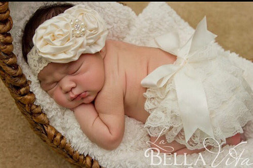 Lace Baby Bloomer