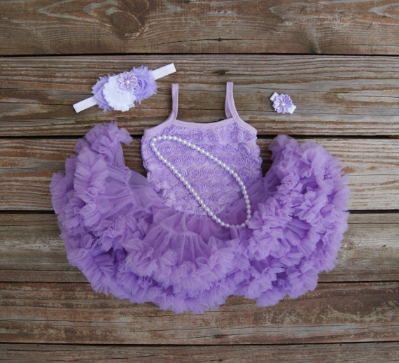 Lavender tutu dress