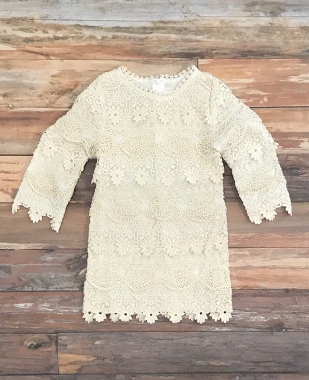 The Addison lace dress